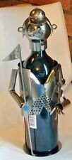 Professional Golfer Wine Bottle Holder Clubs Pipe Flag Hat  Metal  Golf Decor