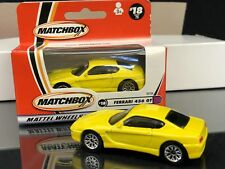 FERRARI 456 GT 2000 MATCHBOX 1/64 SCALE YELLOW 6 PIECE LOT