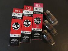 6BU8 RCA VACUUM TUBE, NEW IN BOX / NEW OLD STOCK, PRICE IS FOR ONE TUBE ONLY.