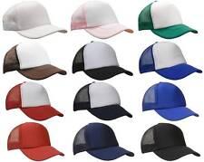 Mesh Trucker Cap 3803 | Plain Caps, Vintage, Hat, Mens, Womens, Kids, Snapback