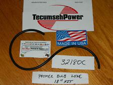 GENUINE Tecumseh Primer Fuel line kit 18'' 32180C  Snow blowers , Tillers