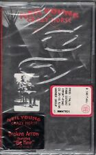 MUSICASSETTA NEYL YOUNG CRAZY HORSE NUOVA SIGILLATA MUSICAL CASSETTE NEW SEALED