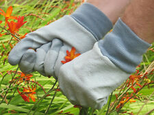 RHS Tough Tips Gardening Gloves , Grey - Size Large