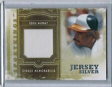2012 Sportkings Single Memorabilia Silver EDDIE MURRAY Game Jersey /90 #7 (9622)