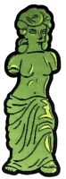The Simpsons - Gummi Venus de Milo Patch-IKO1484-IKON COLLECTABLES