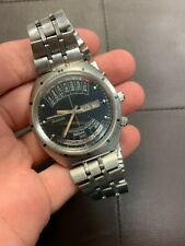 Vintage Rare Longines Wittnauer Automatic Perpetual Calendar Watch Time Machine