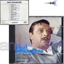 FRED BUSCAGLIONE E I SUOI ASTERNOVAS RARO CD 1989