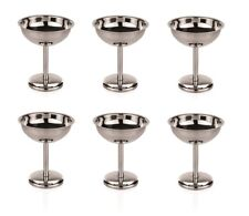 Ensemble de 6 Coupe Glace,Crème Glacée CUP,glace ,Bac à glaçons,Salon