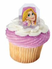 Disney Princess Rapunzel cupcake rings (24) party favor cake topper 2 dozen