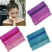 24Pcs/Pack Candy Color Hair Clips Bobby Pins Wavy Hairpins Metal-Barrettes