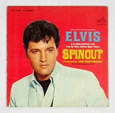 Elvis Presley Spinout 1977 Vinyl LP with 12x12 insert