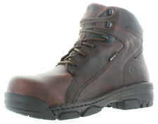 "Wolverine Falcon Men's 6"" Work Boots Composite Toe Leather Size 8"