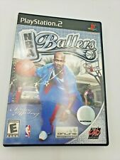 NBA Ballers (Sony PlayStation 2, PS2, 2004) Complete Free Shipping
