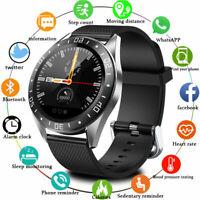 Men's Sports Smart Watch Bluetooth Waterproof Heart Rate Monitor Fitness Tracker