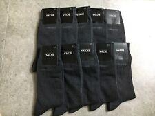 10 PAIRS DESIGNER HUGO BOSS MEN'S SOCKS GRAY COLOR Size 7-9.Fast shipping