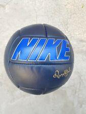 NIKE RONALDINHO R10 LEATHER BALL FOOTBALL RARE NEW DEADSTOCK