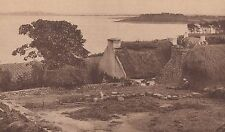 G1766 France - Dans le Golfe du Morbihan - L'ile aux Moines - 1933 vintage print