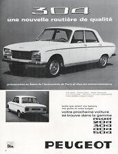 ▬► Publicité French Print advertising - Voiture car - PEUGEOT 304