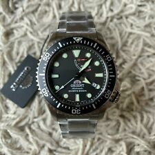 Orient Triton Neptune Black Automatic Diver's 200M RA-EL0001B00B Men's Watch