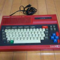 Used TOSHIBA HX-10D 64k MSX Red software controller and soft set