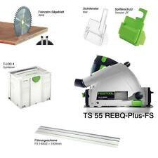 FESTOOL CIRCULAR SAW TS 55 REBQ PLUS FS 220/240 V CUTTING TRIMMING 561580 FESTO