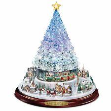 Thomas Kinkade Christmas Tree With Lights, Motion And Music New