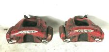 MINI JCW Look Pair Left Right Front Brake Calipers & Carriers 2001 - 2006