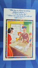 Comic Postcard 1960s Studio Photography Children Photos 7/6 for 12 Scotsman Kilt
