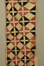 Papua New Guinea Bark Tapa Cloth Natural Dyes New Britain