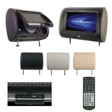 "1) Power Acoustik HDVD71CC 7"" Headrest Monitor w/ DVD Player"