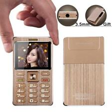 Metal Cell Mobile Phone Dual Sim Mini Card MP3 Bluetooth Remote Camera