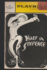 Half a Sixpence Playbill June 1966 Tony Tanner Robert Gorman