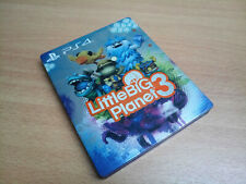 Little Big Planet 3 Steelbook Steelcase G2 Press Kit - NO GAME - RARE !