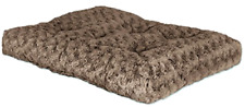 MidWest Quiet Time Pet Bed Deluxe Mocha Ombre Swirl Dog Bed Comfy Washable NEW