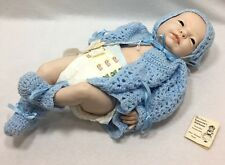 Newborn Boy Handcrafted Porcelain Doll Kathleen A Steuer Tomorrow's Heirlooms