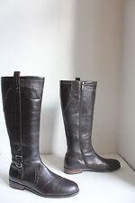 Esprit Elegante High Boots Stiefel Echtleder Braun Eu:41-41,5