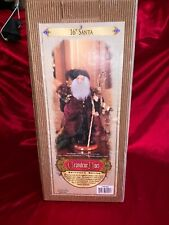 "Holiday Grandeur Noel 1999 Collector's Edition 16"" Santa Sheepskin Beard Fabric"