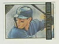 2020 Topps Gallery RAINBOW FOIL #8 CHRISTIAN YELICH Milwaukee Brewers SP