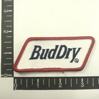 Budweiser Beer BUD DRY Embroidered Cloth  Advertising Patch 00SP