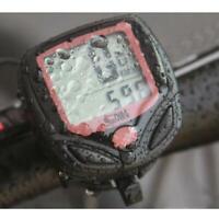 2 tier LCD display Bike Bicycle Cycle Computer Odometer Speedometer LALT