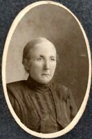 1870s LYNCHBURG VIRGINIA Woman Antique Cabinet Card Photo