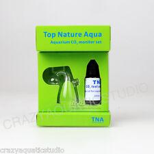 Aquarium CO2 Glass Drop Checker-Test Aquarium CO2 pH indicator Solution