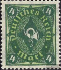 Empire Allemand 173, rare filigrane 1 losanges neuf 1921 timbres