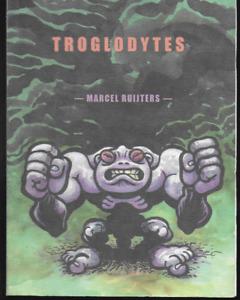 Troglodytes by Marcel Ruijters (2004, Paperback) Top Shelf Comics OOP