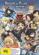 Attack On Titan - Junior High (DVD, 2017, 4-Disc Set)