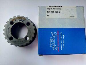 VW,AUDI  Timing Gear Crankshaft  NEW  035105263C SWAG - GERMANY