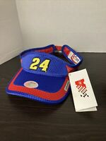 JEFF GORDON Chase Authentics Visor Red/Blue Hendrick Motorsport with Tags
