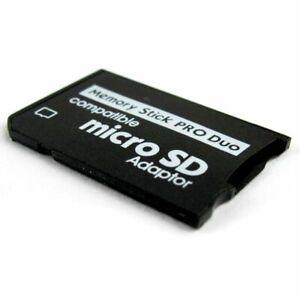 Sony PSP PlayStation Portable Adapterkarte Adapter MicroSD Memory Stick Pro Duo