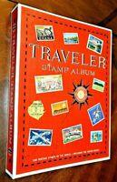 CatalinaStamps: 1983 Harris Traveler World Stamp Album, 2,741 Stamps, D378