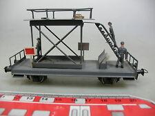 AD699-0,5# H0 Montagewagen/Plattformwagen Metall; DC Achsen, Ladegut/Figuren